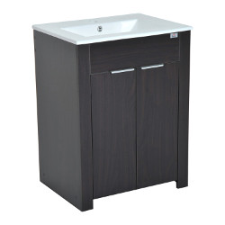 HomCom Single Sink Vanity Cabinet with Top
