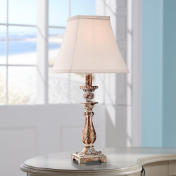 Distressed Antique Table Lamp