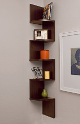 Danya B Corner Wall Mount Shelf