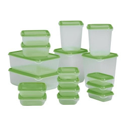 Ikea 17-Set Food Container