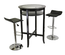 Winsome Air Lift Bar Stool Set
