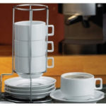 HIC Stackable Coffee Set