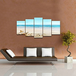 Pyradecor Beach Artwork for Wall Decor