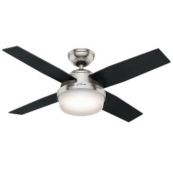 "Hunter 44"" Ceiling Fan With Light"
