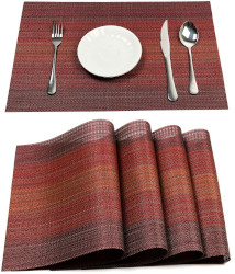 Autumn Leaves Tapestry Placemats