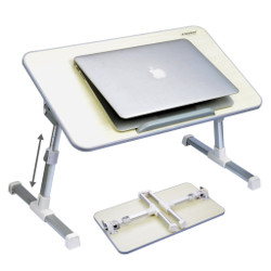 Adjustable Foldable Laptop Table Bed Tray