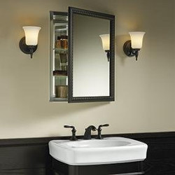 Kohler Aluminum Cabinet with Mirror Door
