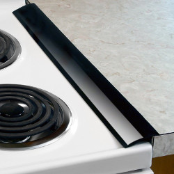 Silicone Stove Counter Gap Covers - Black