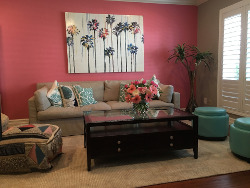 pink as interior design color
