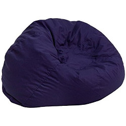 Flash Furniture Oversized Solid Blue BeanBag Chair
