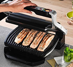 T-fal Indoor Electric Grill Silver