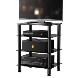 Fitueyes 4-tier Media Component Stand