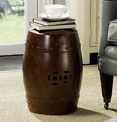 Ashley Furniture Vintage Rustic Chair End Table