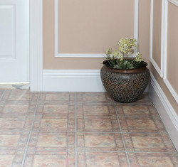 Achim Home Furnishings Vinyl Tile Spanish Rose