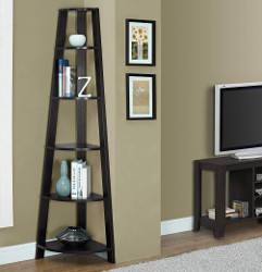 Monarch Specialties Corner Bookcase