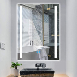 Led Lighted Bathroom Mirrors